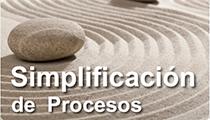 Simplificación de procesos - técnicas Lean y Mejora Continua