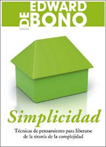 Simplicidad. Edward de Bono