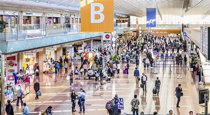 Aeropuerto de Tokio. Estandarizar procesos de embarque